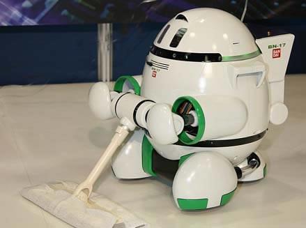 """没错,今天介绍这款东东就是智能型家庭机器人""""irex2005""""."""