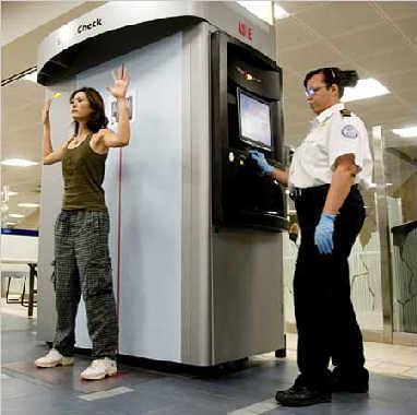 但由于这部透视机可以穿透旅客衣服,被指和脱衣搜身无异.图片