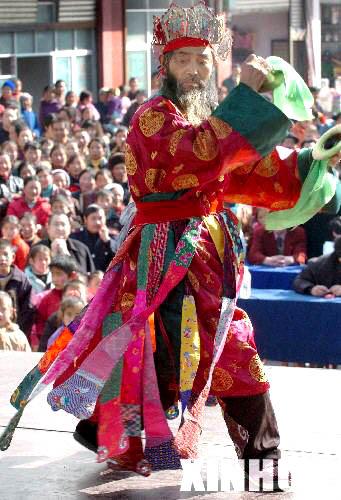 六马人体艺术照片_端公戏:东方人体文化的活化石