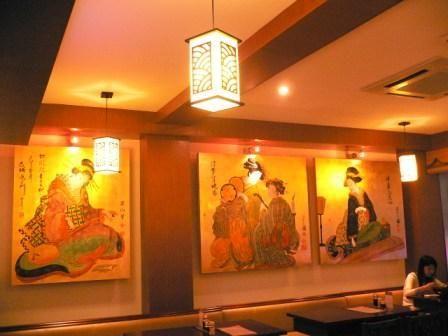 日本拉面店装修风格