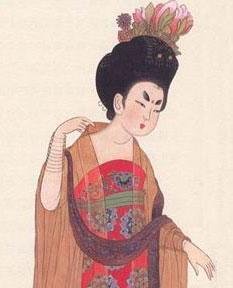 唐朝第一美人杨贵妃身材就很丰腴