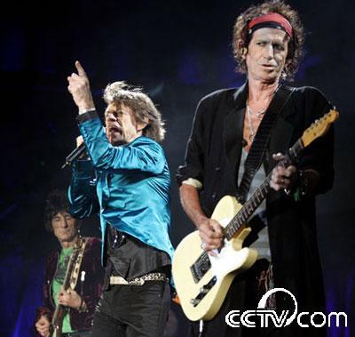 滚石演唱在里约