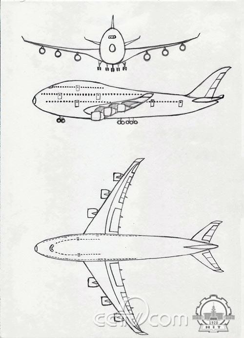 網絡征集:未來飛機設計想象圖 > 正文           所投稿的作品為手繪
