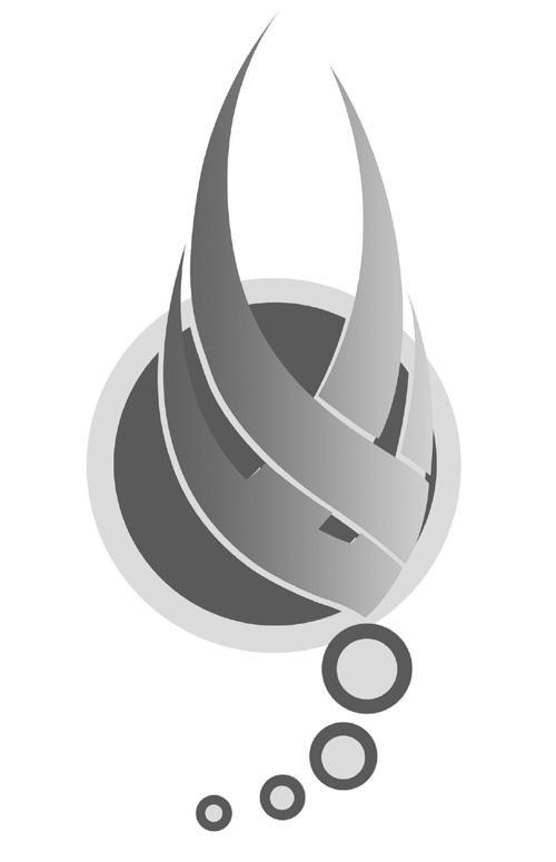 抽象燕子矢量图